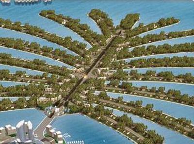 Дома на пальмовом острове в дубае недвижимость на озере гарда
