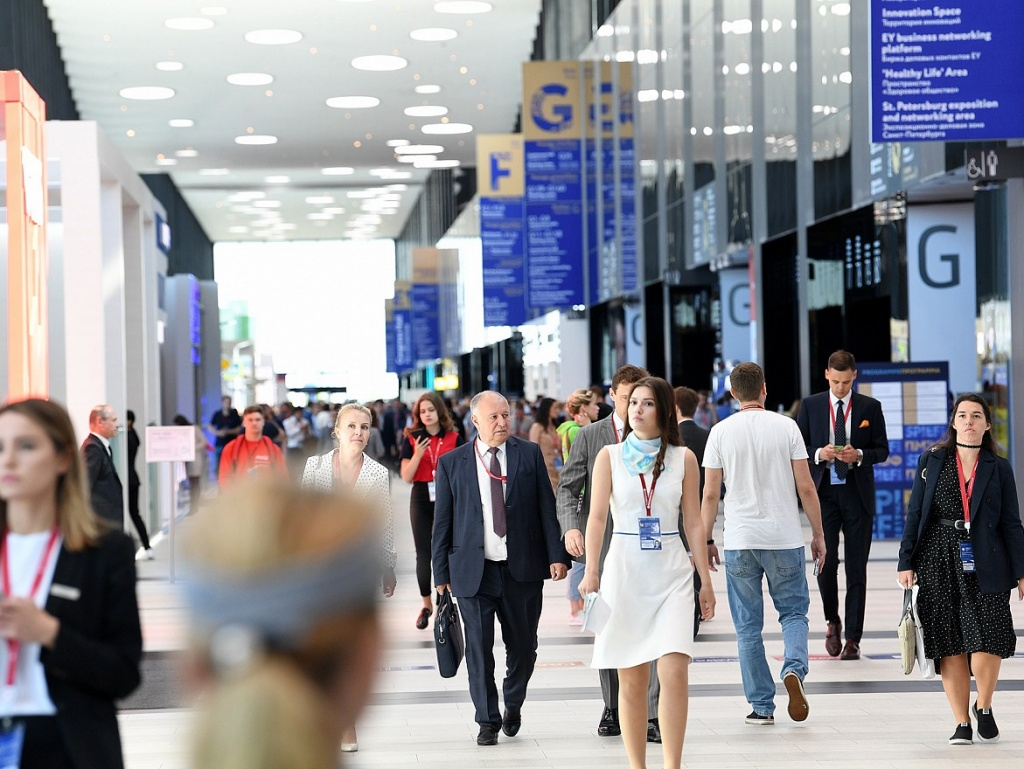 SPIEF broke the record for the number of visitors