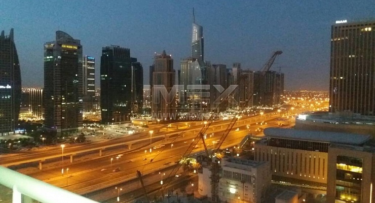 Furnished Studio, Dubai Marina, Marina View Tower A! - imexre.com
