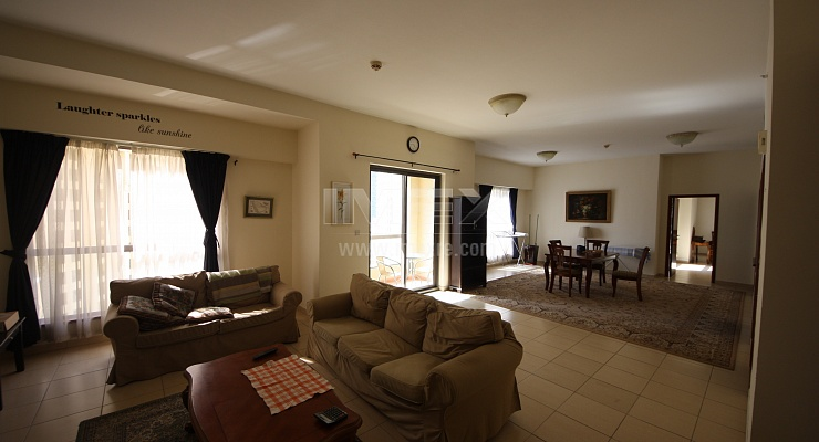 Huge Fully Furnished 1 Bedroom in Sadaf 7 - imexre.com
