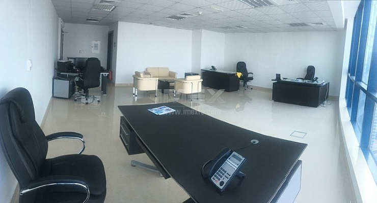 X3 tower Fully Fitted office on high floor - imexre.com