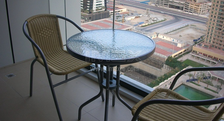 Near Metro Furnished can be monthly 1B/R in JLT - imexre.com